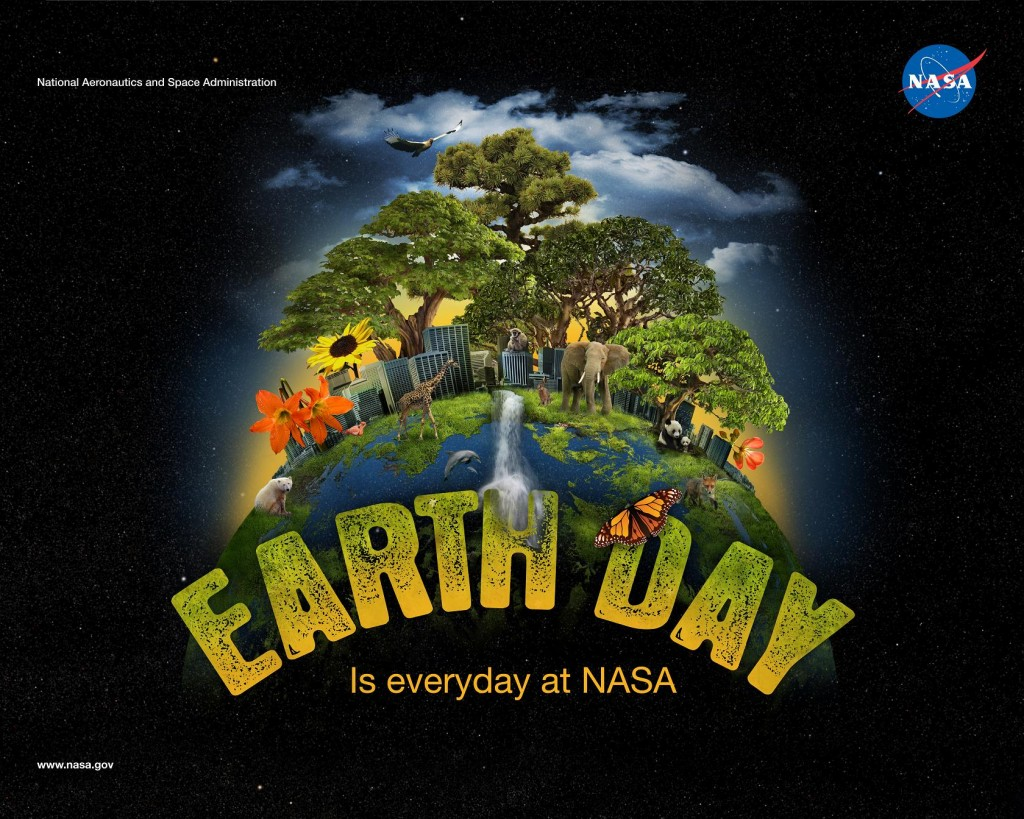 I just put this in here because it's Earth Day. It doesn't have anything to do with publishing. Photo: courtesy of NASA