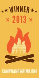 Camp-NaNoWriMo-2013-Winner-Campfire-Vertical-Banner