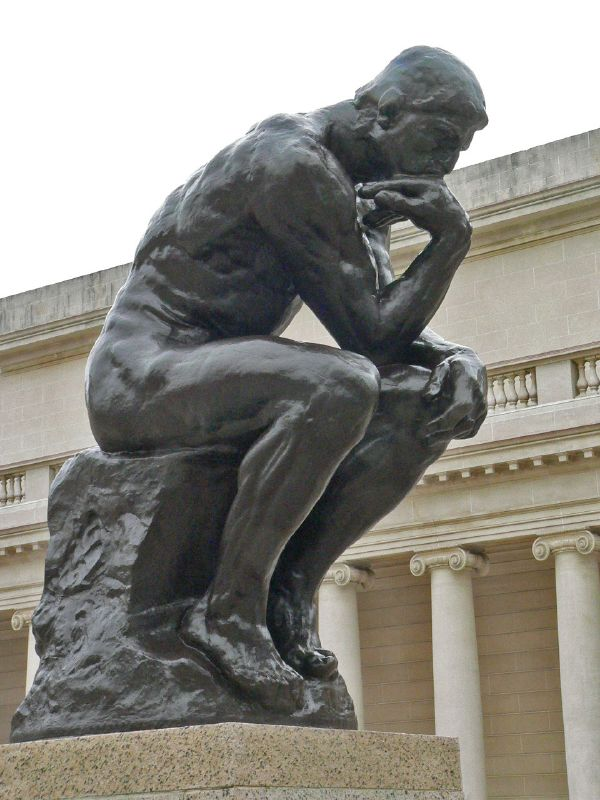 thinker-Mary Harrsch